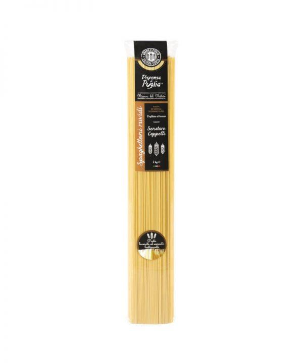 Spaghettoni ruvidi trafilati al bronzo lunghi 52 cm